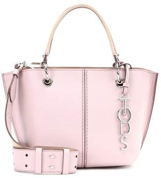 Tod's 2 Rings leather tote
