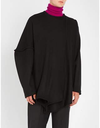 Chalayan Draped wool jumper