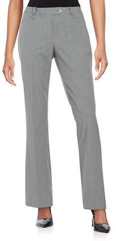 Calvin KleinCalvin Klein Striped Wide Leg Dress Pants