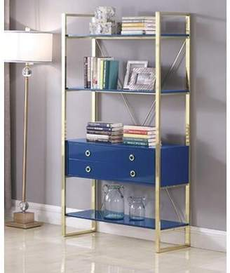 Everly Quinn Turrell Etagere Bookcase Quinn