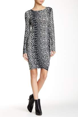 Loveappella Shirred Mini Dress