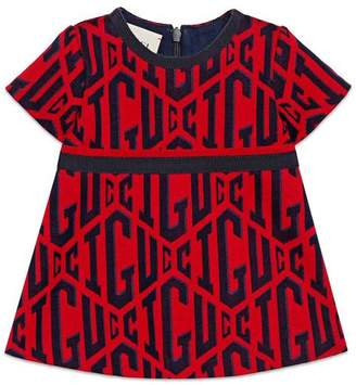 Gucci Baby game cotton dress