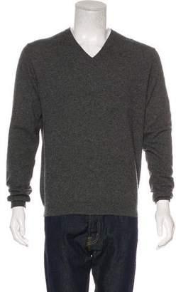Prada Knit V-Neck Sweater