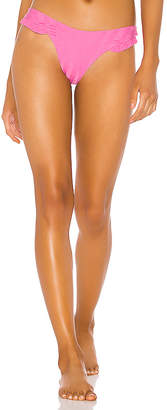 Luli Fama Bachelorette And Her Babes Ruffle High Leg Brazilian Bottom