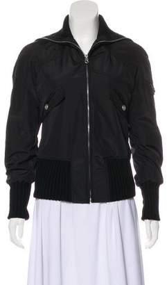 Chanel Zip-Up Bomber Jacket