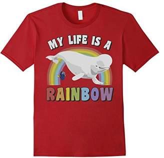 Disney Pixar Finding Dory Bailey My Life's A Rainbow T-Shirt