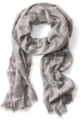 Banana Republic Metallic Shine Rectangular Scarf