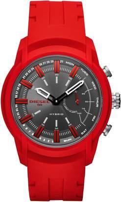 Diesel R) Armbar Hybrid Silicone Strap Smart Watch, 44mm