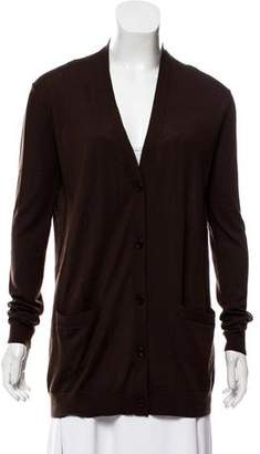Ralph Lauren Wool Button-Up Cardigan