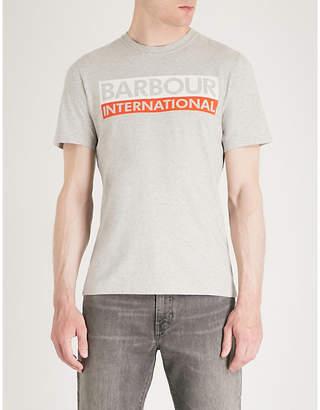 Barbour Cap cotton-jersey T-shirt