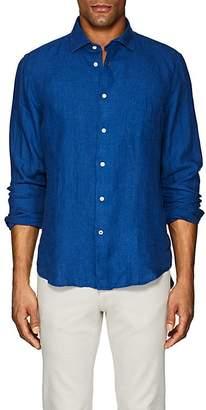 Hartford Men's Linen Chambray Shirt