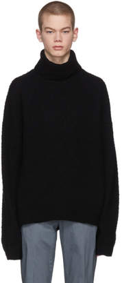 Acne Studios Black Nyran Turtleneck