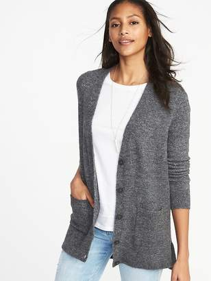 Old Navy Brushed Sweater-Knit Boyfriend Cardi for Women