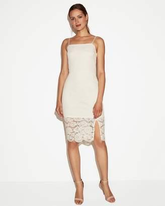 Express Lace Sheath Dress