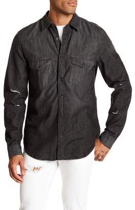 7 For All Mankind Western Denim Regular Fit Shirt