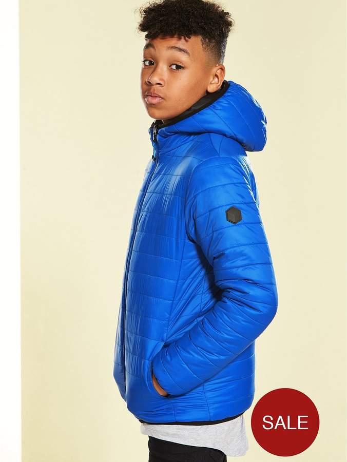 Boys Reversible Padded Slim Fit Jacket