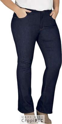 Dickies Perfect Shape Bootcut Stretch Denim Jean - Plus