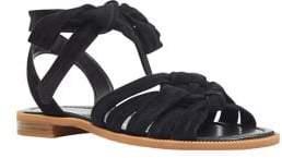 Nine West Xameera Suede Ankle-Strap Sandals