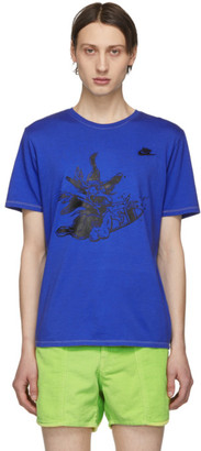 Nike ERL Blue Edition Witch T-Shirt