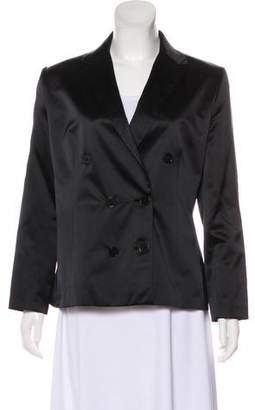Ralph Lauren Black Label Silk Tonal Blazer