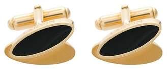 Lanvin oval shaped cufflinks