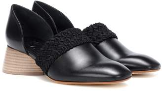 Loewe Flex 40 leather loafers