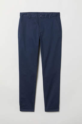 H&M Tapered Fit Chinos - Blue