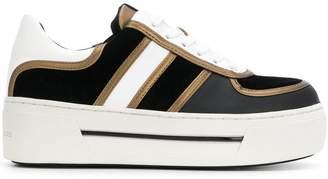Michael Kors platform lace-up sneakers