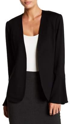 Catherine Catherine Malandrino Bell Sleeve Open Front Jacket