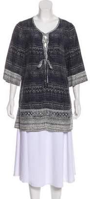 Calypso Silk Tunic Dress