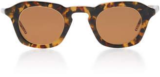 Thom Browne Tokyo Square-Frame Tortoiseshell Acetate Sunglasses
