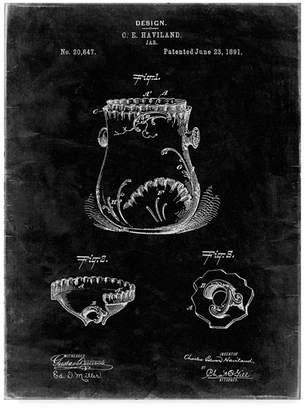 "Cole Borders 'Kitchen Jar Pitcher' Canvas Art - 47"" x 35"" x 2"""