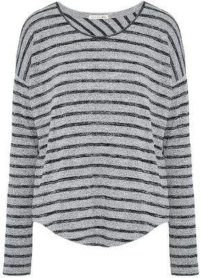 Rag & Bone Marled Striped Stretch-Jersey Top