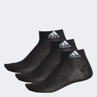 adidas (アディダス) - 3P ショートソックス /靴下