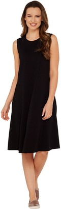 Denim & Co. Essentials Sleeveless Knit Dress with Seam Detail
