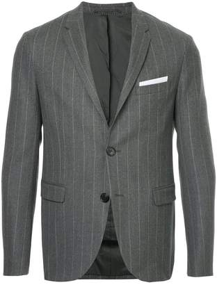 Neil Barrett pinstriped suit jacket