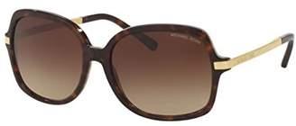 Michael Kors MK2024F Sunglasses 310613-57 - Dk Tortoise/