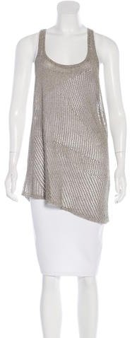 Helmut LangHelmut Lang Linen-Blend Knit Tunic