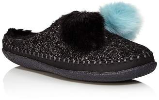 Toms Women's Ivy Pom Pom Slippers