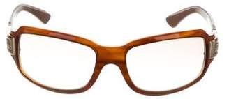 Kieselstein-Cord Rectangular Embellished Sunglasses