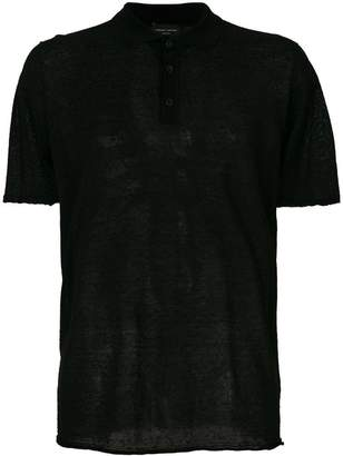 Roberto Collina transparent style polo shirt