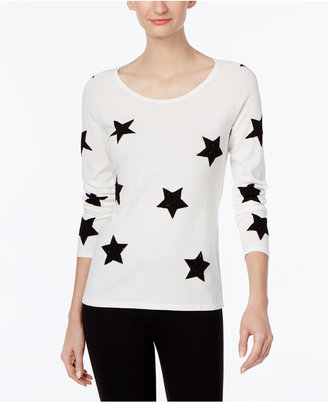 INC International Concepts Star-Print Sweater, Only at Macy's $89.50 thestylecure.com