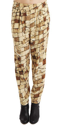 Giada Forte Block Print Pants