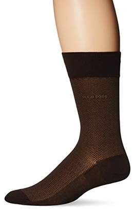 HUGO BOSS Men's Dave Herringbone Crew Sock