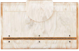 Edie Parker Mini Lara Glitter Iceless Clutch Bag