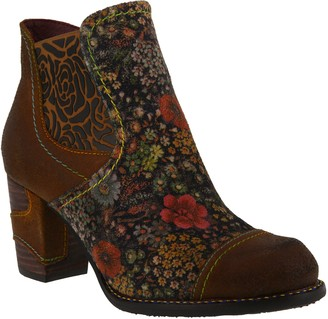 Spring Step L'Artiste by Leather Ankle Boots -Melvina