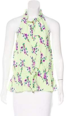 Juicy Couture Silk Sleeveless Top