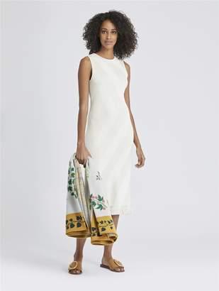 Oscar de la Renta Striped Knit Dress