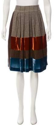 Etro A-Line Knee-Length Skirt w/ Tags