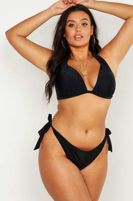 93a386ddff61c boohoo Plus Mix & Match Push Up Enhance Bikini Top
